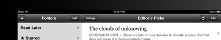 Instapaper on iPad [Detail]